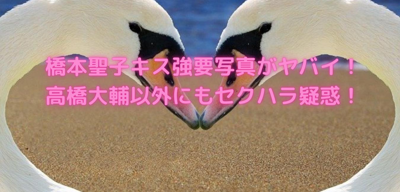 橋本 高橋 キス